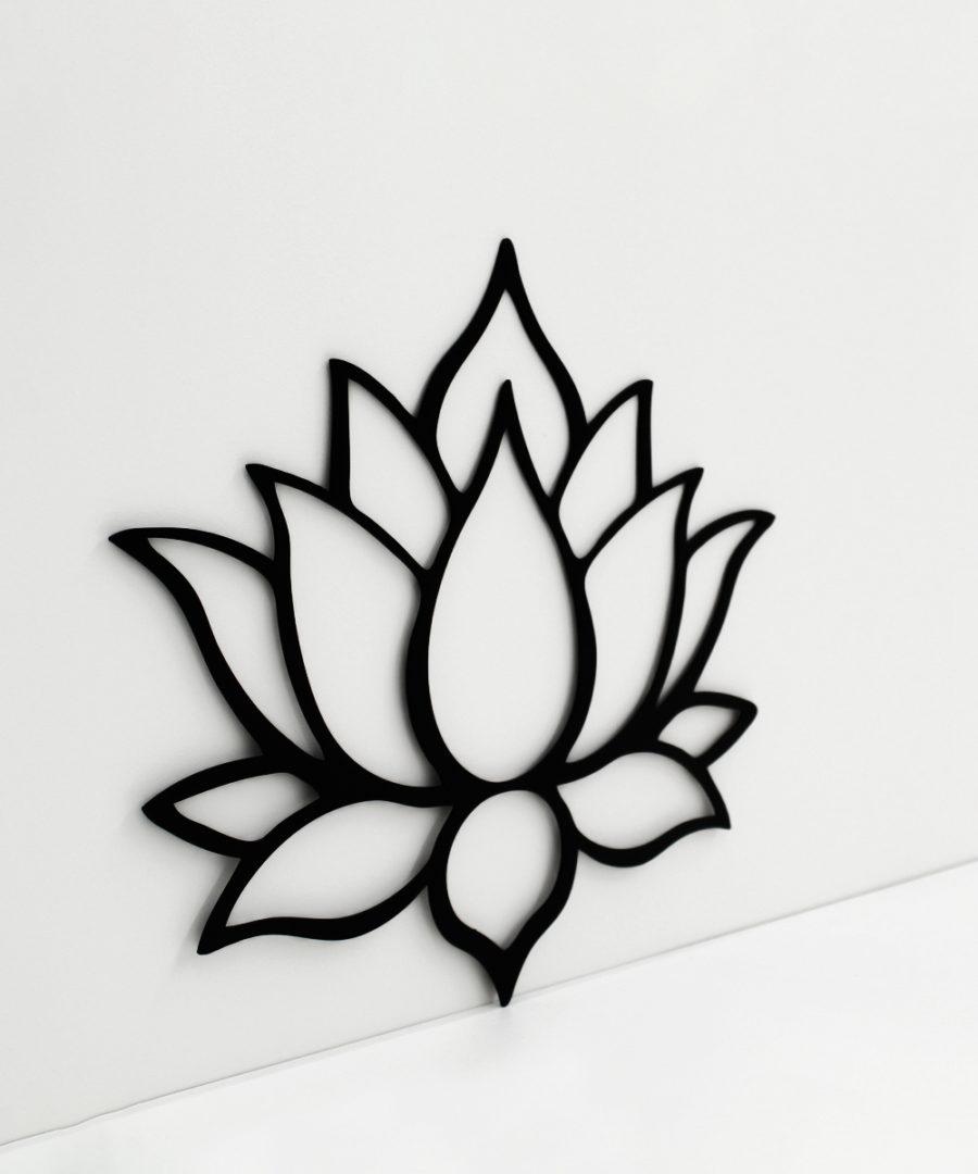 Marco flor loto